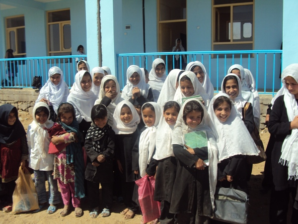 First day at new school - Kabul