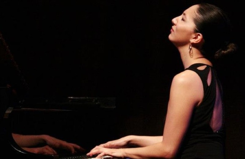 Tanya at Piano